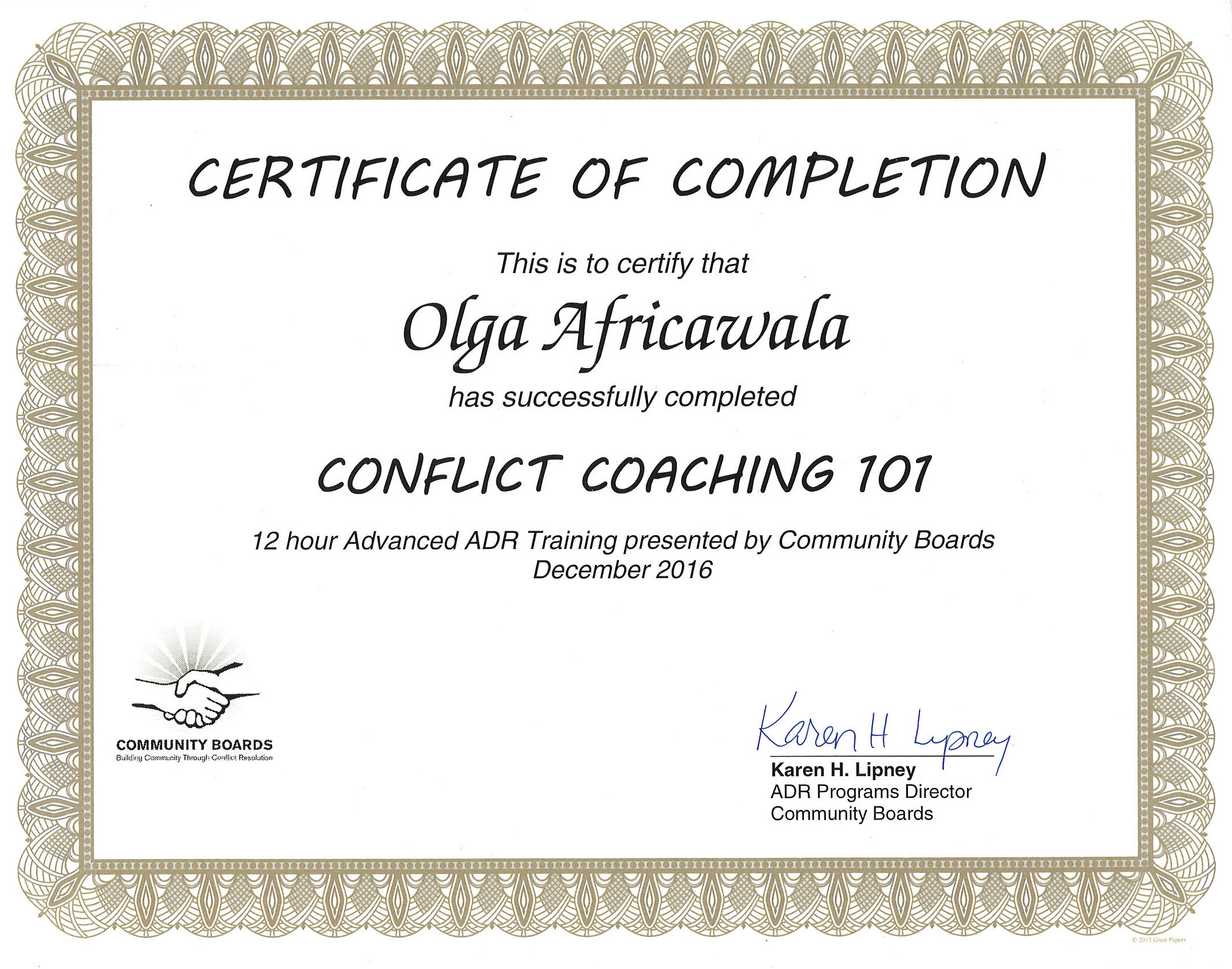 About us harmonious resolutions conflict coaching 101 certificate community boards 2016 12 hours xflitez Choice Image